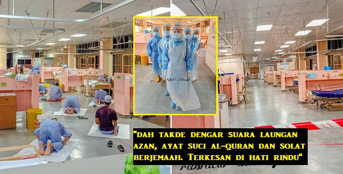 Wad hospital mula lengang, jururawat mula 'rindu' amalan bekas p3sakit c0vid-19 yang muliakan agama