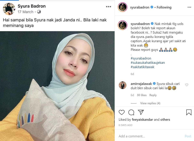 Syura Muat Naik Status Bosan Hidup Menj4nda? - Vanilla Daily
